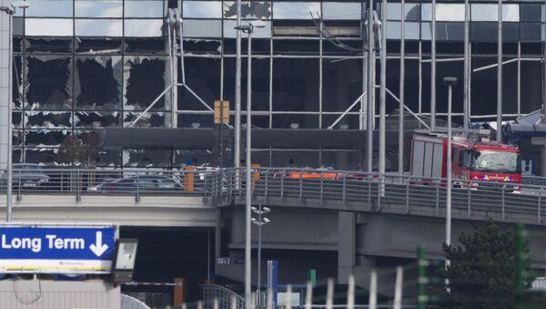 L'attaccato aeroporto Zaventem a Bruxelles - Sputnik Italia