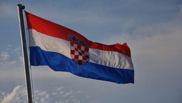 La bandiera della Croazia - Sputnik Italia