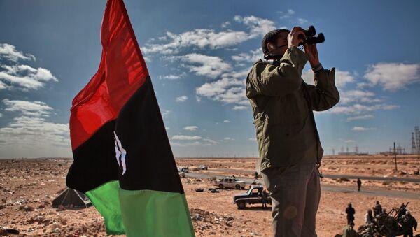 Un militante libico - Sputnik Italia