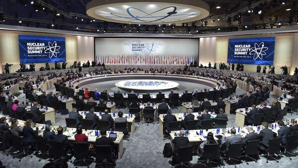 Summit sulla sicurezza nucleare 2016, Washington - Sputnik Italia