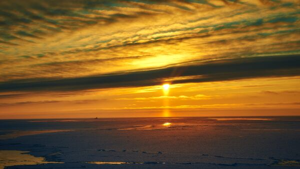Tramonto nel Mar di Barents - Sputnik Italia