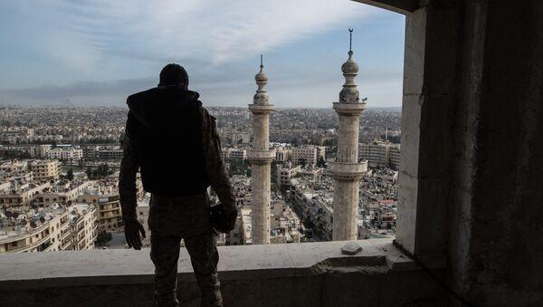 Soldato siriano ad Aleppo - Sputnik Italia
