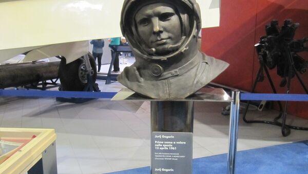 Busto di Jurij Gagarin, Museo dell'Aeronautica  di Trento - Sputnik Italia