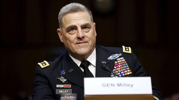 Generale dell'esercito USA Mark Milley - Sputnik Italia