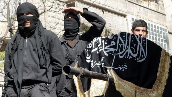 Militanti di Al Nusra - Sputnik Italia