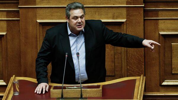 Ministro della Difesa greco Panos Kammenos - Sputnik Italia