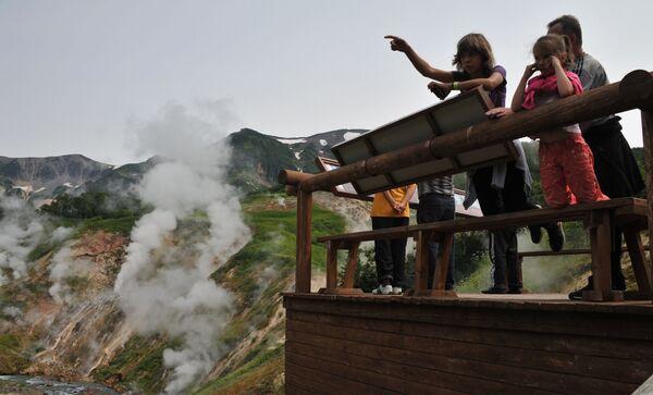 La valle dei Geyser in Kamchatka - Sputnik Italia