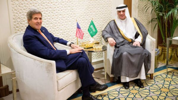 John Kerry e Adel al-Dzhubeyr - Sputnik Italia