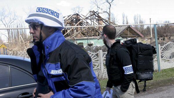 Ispettori OSCE a Donetsk - Sputnik Italia