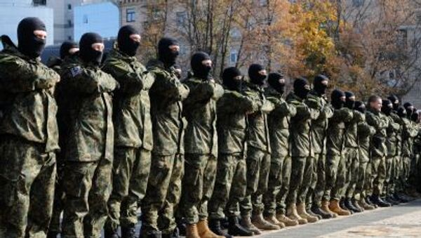 Il battaglione ucraino Azov - Sputnik Italia