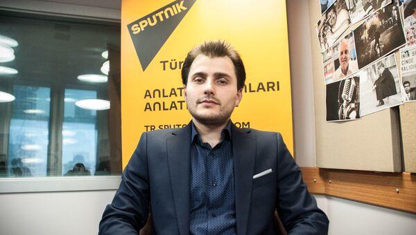 Главный редактор представительства МИА Россия сегодня в Стамбуле Турал Керимов - Sputnik Italia