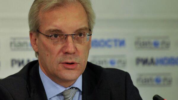 Rappresentante permanente della Russia presso la NATO Alexander Grushko - Sputnik Italia