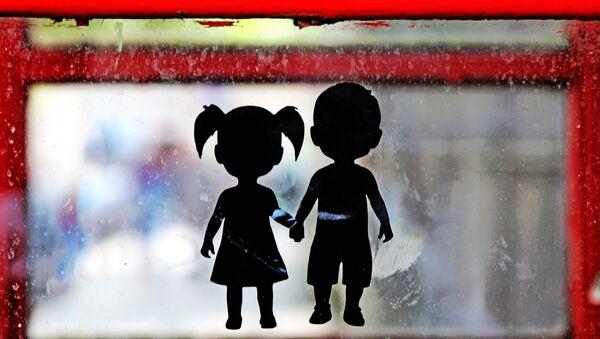 Children's silhouettes - Sputnik Italia