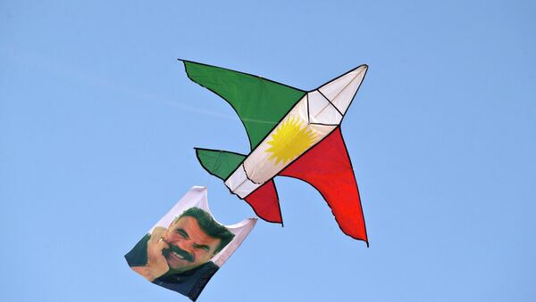 Ocalan, leader del partito curdo dei lavoratori - Sputnik Italia