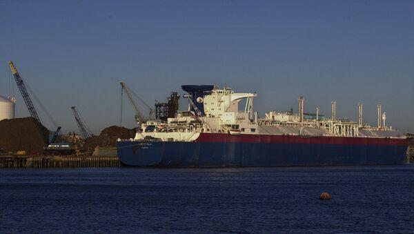 Nave cargo per il trasporto di gas naturale liquefatto - Sputnik Italia