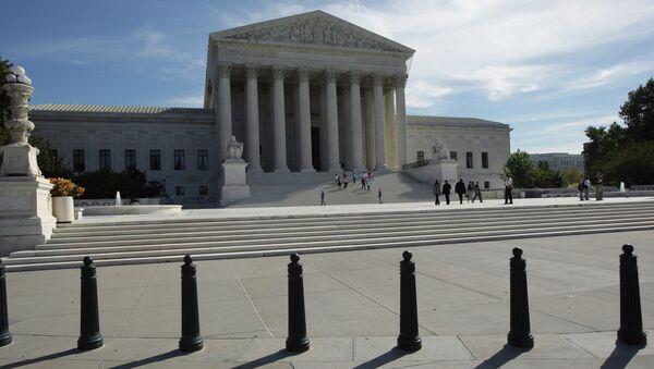 The Supreme Court of the United States in Washington, D.C. - Sputnik Italia