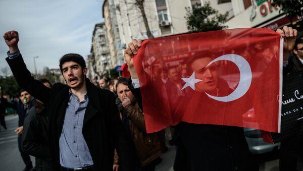 Manifestazione per la libertà di stampa in Turchia - Sputnik Italia