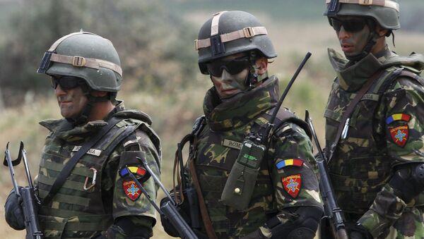 I soldati della Nato durante le esercitazioni in Giorgia - Sputnik Italia