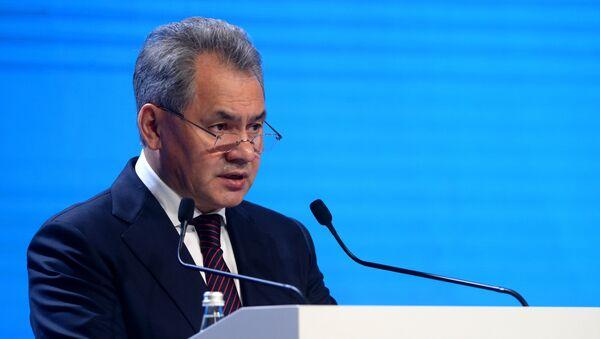 Ministro della Difesa Sergey Shoigu - Sputnik Italia