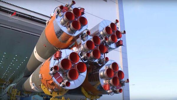 Cosmodromo Vostochny: il razzo pronto al lancio - Sputnik Italia