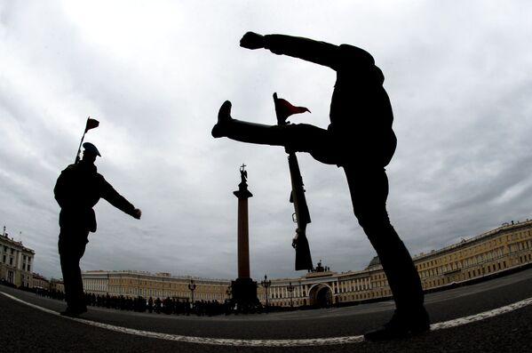 Parata della Vittoria, prove generali a San Pietroburgo - Sputnik Italia