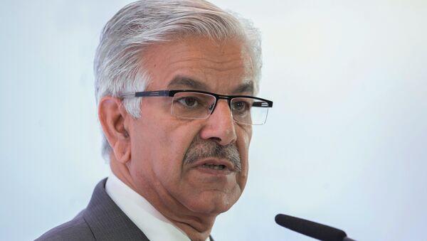 Pakistan's Defense Minister Khawaja Muhammad Asif - Sputnik Italia