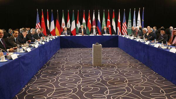 Una riunione del Gruppo di sostegno internazionale alla Siria (Issg) - Sputnik Italia