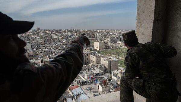 Esercito siriano ad Aleppo - Sputnik Italia