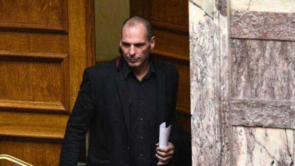 Yanis Varoufakis, ministro delle finanze greco . - Sputnik Italia