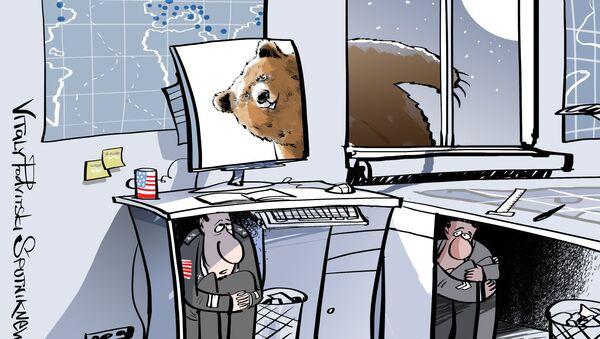 L'orso russo spaventa gli USA - Sputnik Italia