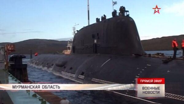 Le prove del sottomarino nucleare Severodvinsk - Sputnik Italia