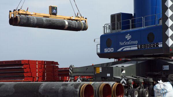 Costruzione gasdotto Nord Stream - Sputnik Italia