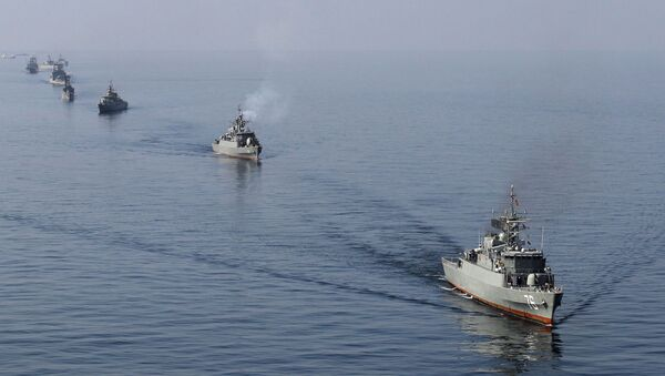 Navi iraniane nello stretto di Hormuz - Sputnik Italia