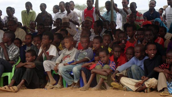Somali refugees at the Dadaab refugee camp in Northern Kenya - Sputnik Italia