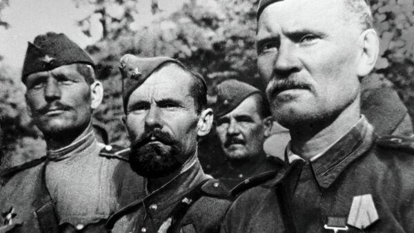 Soldati dell'Armata Rossa - Sputnik Italia