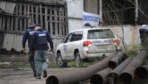 Ispettori OSCE nel Donbass - Sputnik Italia