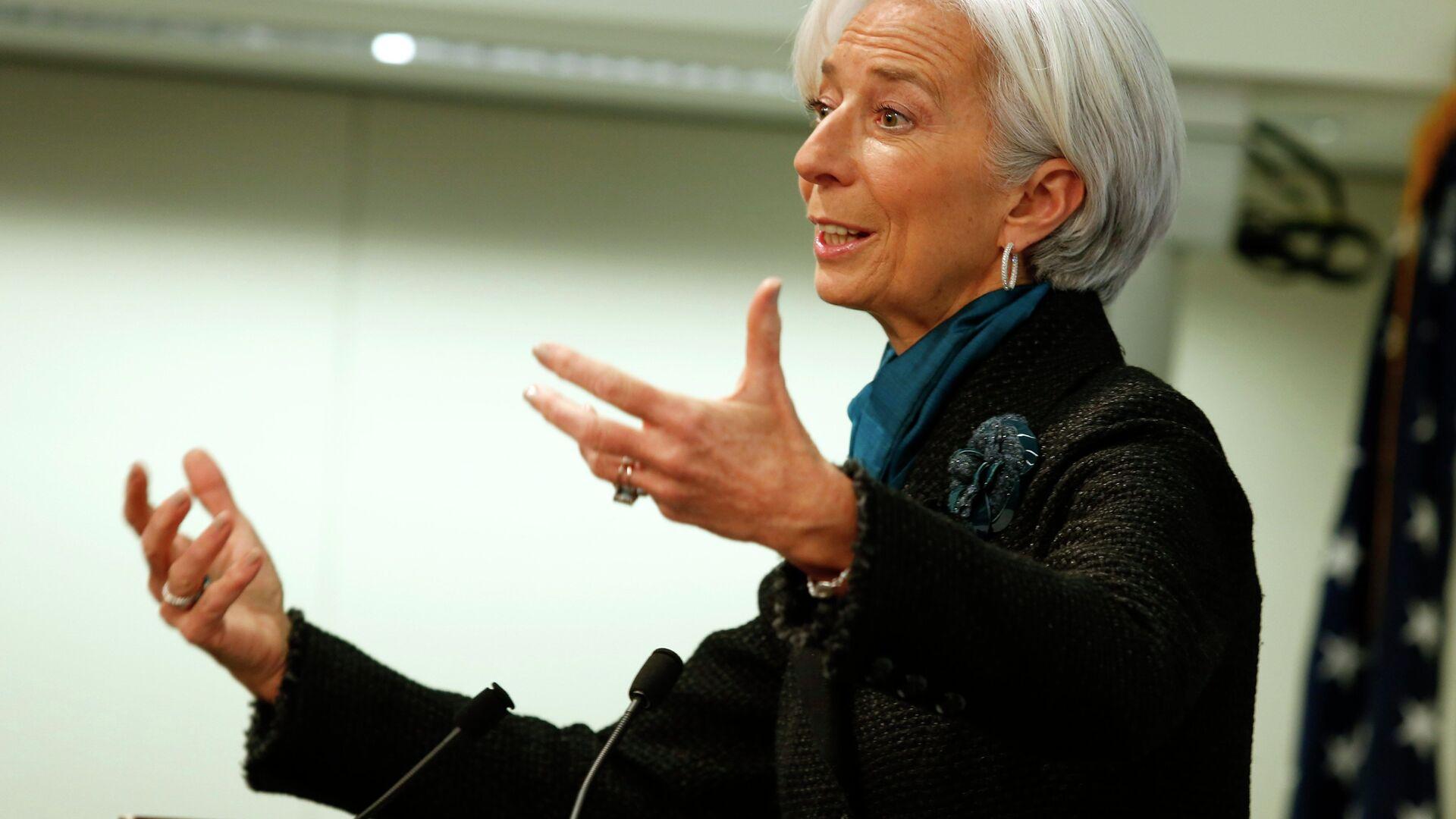 Christine Lagarde, ex direttore Fmi e nuovo presidente Bce - Sputnik Italia, 1920, 07.02.2021