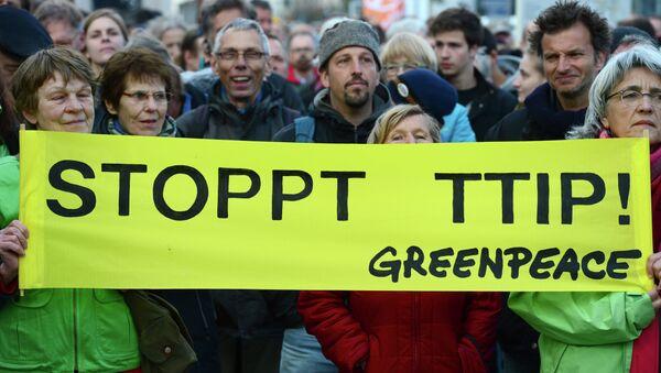 Germania, manifestazioni anti-TTIP - Sputnik Italia