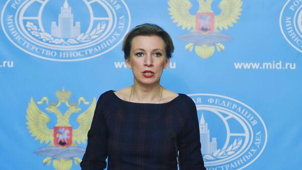 Portavoce del ministero degli Esteri russo Maria Zakharova - Sputnik Italia