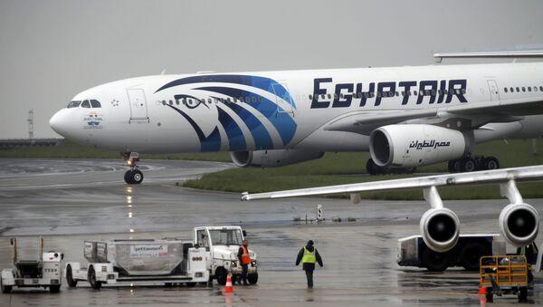 L'aereo della EgyptAir precipitato nel Mediterraneo il 19 maggio 2016 - Sputnik Italia