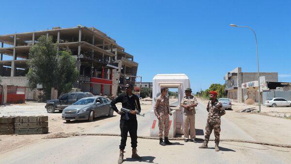 Militari delle Forze Armate della Libia - Sputnik Italia
