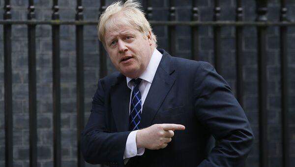 L'ex sindaco di Londra Boris Johnson - Sputnik Italia