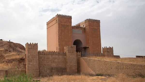 Iraq, antiche mura di Ninive - Sputnik Italia