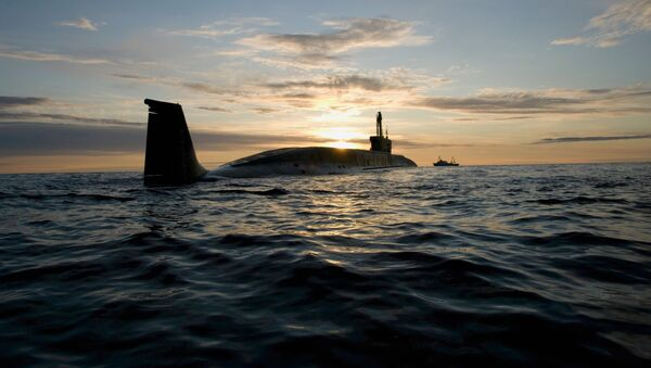 Il sottomarino nucleare Juri Dolgoruky - Sputnik Italia