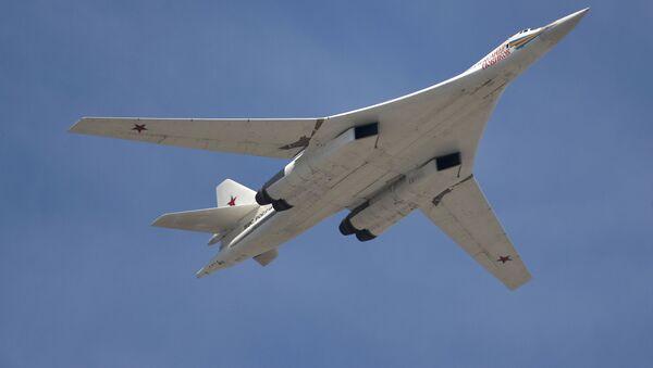 Il bombardiere strategico supersonico Tupolev Tu-160 - Sputnik Italia