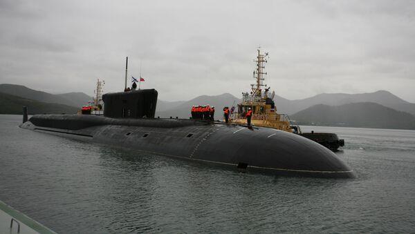 Il sottomarino portamissili a propulsione atomica Aleksandr Nevskij - Sputnik Italia
