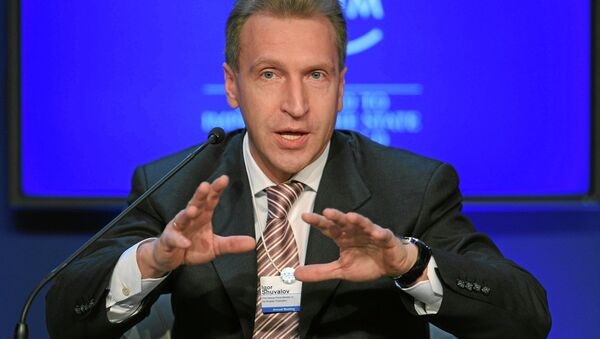 Vice premier russo Igor Shuvalov - Sputnik Italia