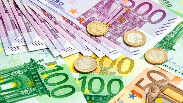 Банкноты и монеты евро - Sputnik Italia