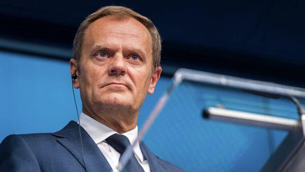 Donald Tusk, presidente del Consiglio d'Europa - Sputnik Italia