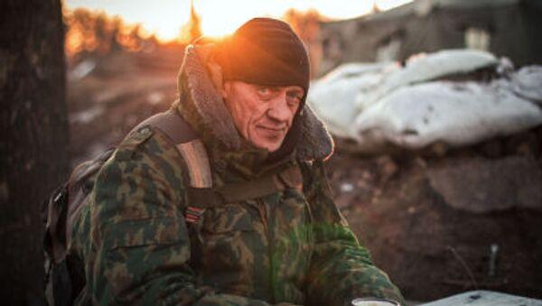 Il miliziano di Repubblica popolare di Donetsk - Sputnik Italia